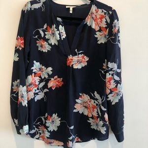 Joie Deon B Long-Sleeve Floral Blouse